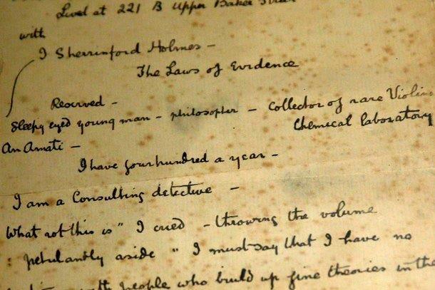 analysis of conan doyles work essay