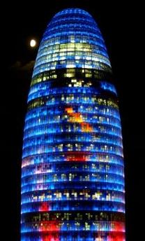 Ο πυργος Αγμπαρ στην Βαρκελωνη