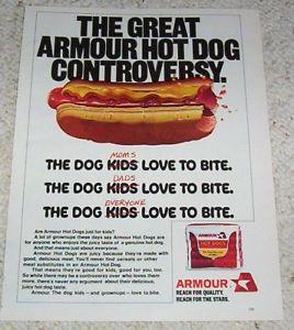 Lyrics To Armour Hot Dog Song