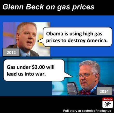Something is. glenn beck is an asshole