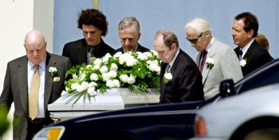 Donna Summer Funeral Casket