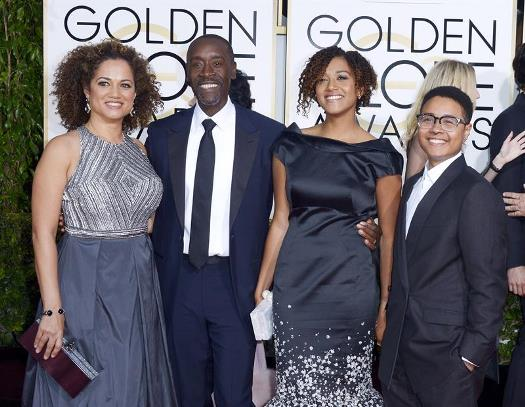 Actress Bridgid Coulter has two Children. Find out who is ... |Don Cheadle Family 2014