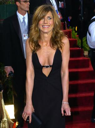 Jennifer Aniston arrives for the 61st Annual Golden Globe Awards on Sunday,