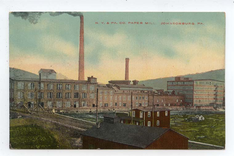 New York & Pennsylvania Paper Mill