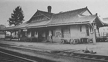 Johnsonburg Railroad Station