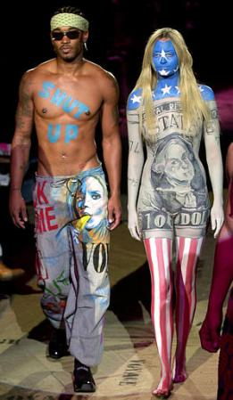 Body Paint Men