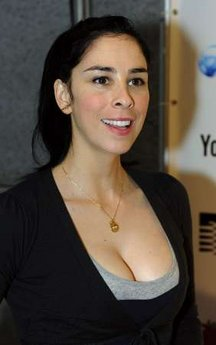Comedian Sarah Silverman arrives at the Webby Awards in New York, June 8, ...